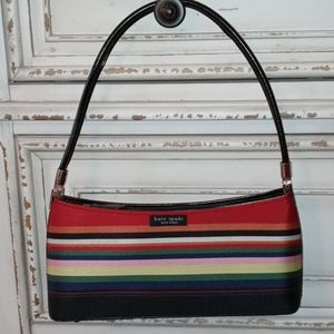 Kate Spade New York  purse. Stripes excellent